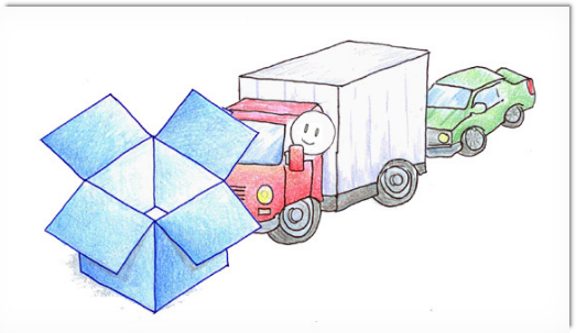 Dropbox holding up traffic